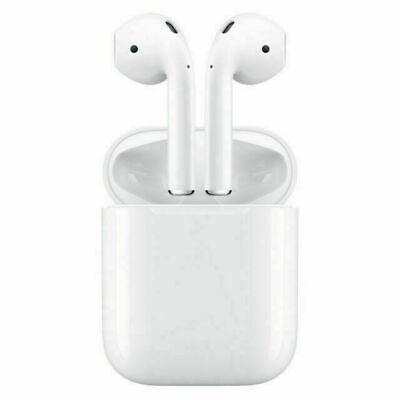 AU93.76 • Buy Apple AirPods 1st Generation Wireless Headset With Charging Case - White