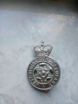 £0.99 • Buy West Riding Constabulary Police Cap Badge