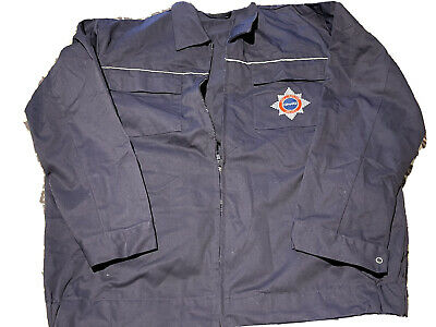 """£5 • Buy Firefighter Day Jacket Quinetiq Fire Service Blue New Without Tags 48"""" / 122cm"""