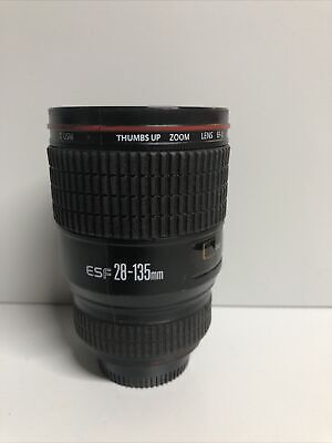£4 • Buy ESF 28-135mm Novelty Camera Lens Mug Travel Cup By Thumbs Up Photographer Gift