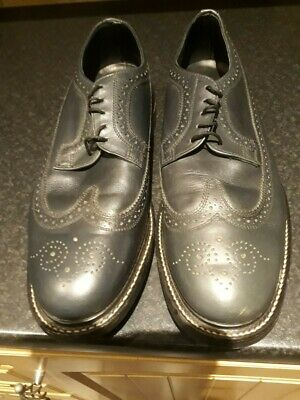 £50 • Buy Sanders Mens Shoes - Commando Style - Blue/green Size 9
