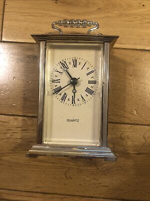 £6 • Buy Quartz Carriage Clock Battery Operated