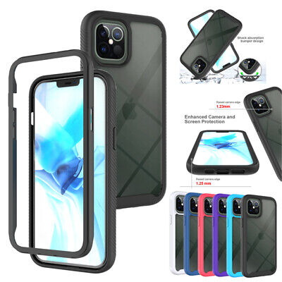 AU8.39 • Buy For IPhone 12 11 Pro Max XR XS 8/7/6 SE Plus Case Clear Shockproof Bumper Cover