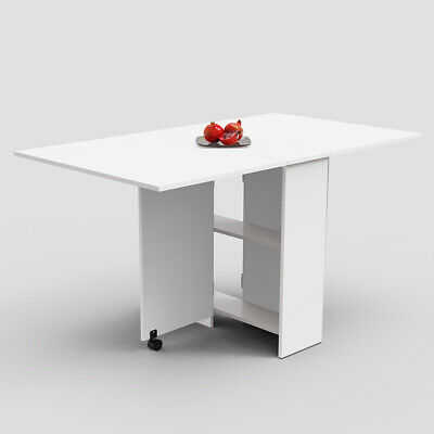 AU123.90 • Buy Dining Table Extendable Folding Kitchen Table Laptop Table Restaurant Table