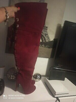 £10 • Buy Womens Thigh High Boots Size 4