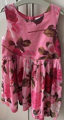£8 • Buy Next Pink Floral Prom Dress - Age 5-6