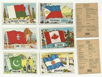 £9.99 • Buy Twenty Eight Dandy Gum  Flags Parade Trade Cards - All Listed