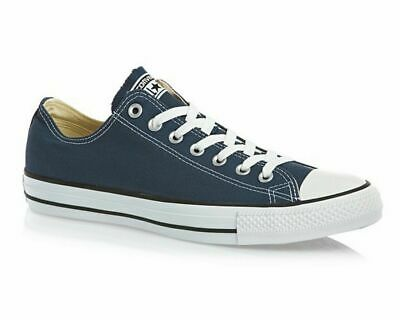 $29.99 • Buy Converse All Star OX M9697C Canvas Mens Trainers Navy Ladies Shoes Size 10.5