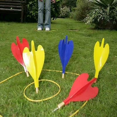 £10.99 • Buy Large Giant Garden Lawn Darts Toss Throwing Game Set Party Fun Family Outdoor