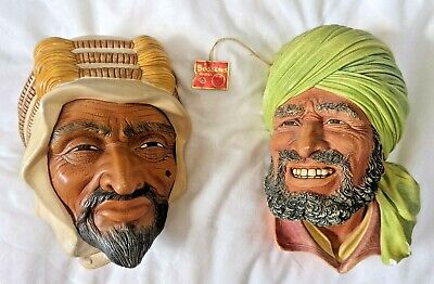 £15 • Buy Bossons Chalkware Heads. 1 Punjabi With Tag And 1 Sheik.
