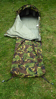 £137.99 • Buy Dutch Army Hooped Bivvy Bag Gore-Tex® Camouflage Bivy Camo DPM. Size L.