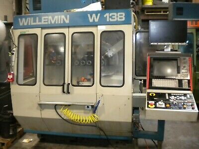 $3499 • Buy Willemin W-138 Cnc Milling Machine , Multi Axis, Tooling Very Gd Cond