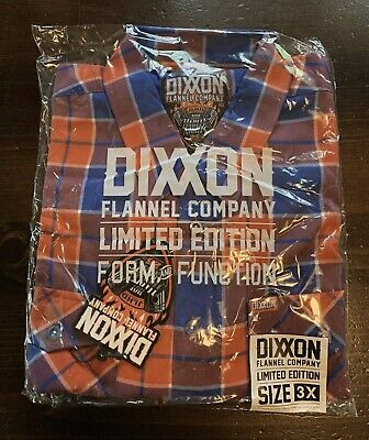 $89.99 • Buy DIXXON FLANNEL HOT HARLEY NIGHTS 2021 SOLD OUT SIZE 3XL 3X Harley Davidson