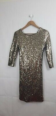 £5.99 • Buy New Sexy Green Golden Party Dress Size 10