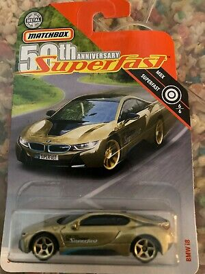 $0.99 • Buy Matchbox BMW I8!!! Target Exclusive Gold Superfast, 50th Anniversary