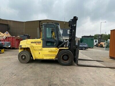 £30950 • Buy Used Gas Diesel Forklift Truck Hyster H12.00XM 2006 3.5m Lift Height 12,000KG