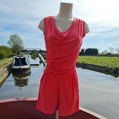 £4.95 • Buy Ladies, BNWT, Coral Playsuit From Wal G. Size Small.