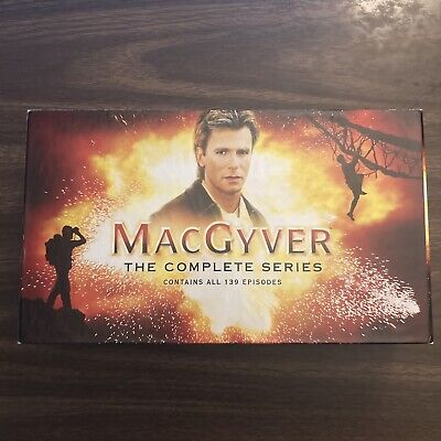 $84.99 • Buy MacGyver The Complete Series DVD Box Set 39-Disc Collector's Box 2007 Region 1