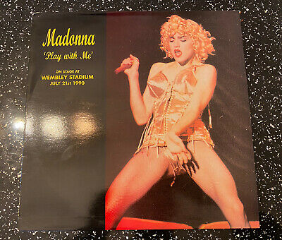 £14.95 • Buy Madonna - Play With Me Wembley Stadium July 21st 1990 - Rare Record LP