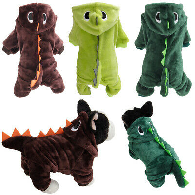 £7.70 • Buy Coat For Dogs Cats Clothes Puppy Warm Hoodie Cats Jumpsuit Soft Cozy Pet Jacket