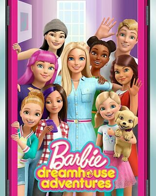 £3.99 • Buy Barbie Dreamhouse Adventures Poster Barbie A4 Poster Laminated
