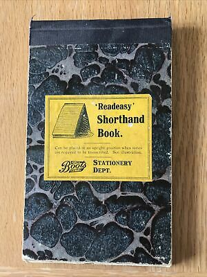 £1.99 • Buy Readeasy Shorthand Book Notebook With Notes From 1917