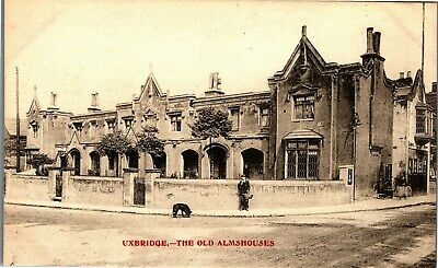 £6.99 • Buy Postcard Uxbridge Nr Ruislip Middlesex Early View The Old Almshouses By Maylott