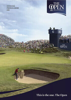 £9.99 • Buy The 149th Open Golf Championship - Royal St George's - Official Programme - 2021