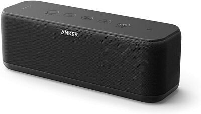 AU141.64 • Buy Anker Soundcore Boost Bluetooth Speaker With 12H Playtime - BassUp & App Control