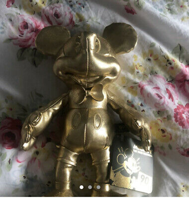 £20 • Buy Mickey Mouse Gold Collection MINI BEAN BAG 💫 Brand New With Tags.