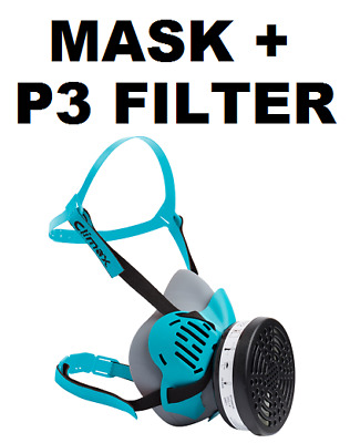 £11.95 • Buy Climax - Reusable Half Face Mask With P3 Filter - Conforms To EN 140:1999