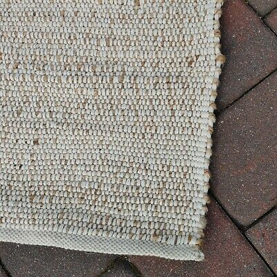 $129 • Buy 6 X 9 Ft NEW $279 Nuloom Rug BOHO Jute And Cotton Rug Magnolia Crate And Barrel