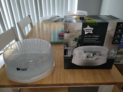 £5 • Buy Tommee Tippee Closer To Nature Microwave Steam Steriliser Holds - 4 X Bottles
