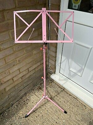 £7 • Buy Pink Folding Music Stand