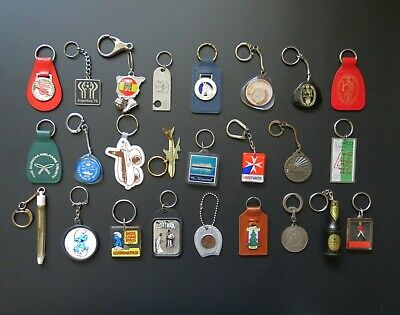 £8 • Buy Collection Of Vintage Key-Rings / Chains / Fobs – Sold Individually
