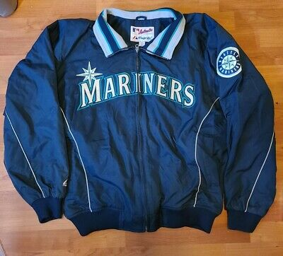 $30 • Buy Excellent Majestic Seattle Mariners Full Zipper Jacket.  Size XL