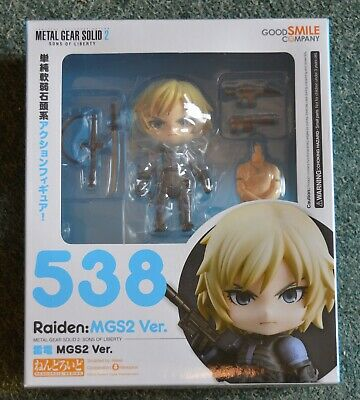 £40 • Buy Metal Gear Solid 2 – Sons Of Liberty – Raiden Nendoroid 548  (sealed)