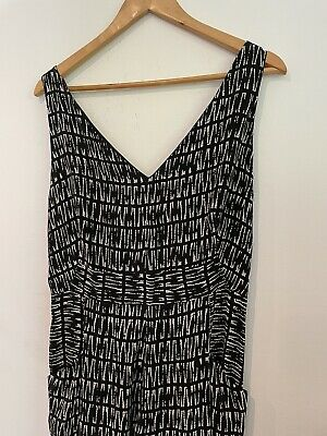 AU67.84 • Buy New Whistles Size 14 Black And White Jumpsuit