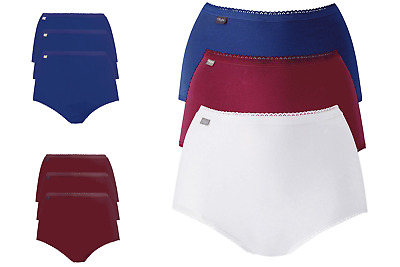 £10.99 • Buy Playtex Cotton Stretch Briefs - 3 Pack Ladies Cotton Knickers