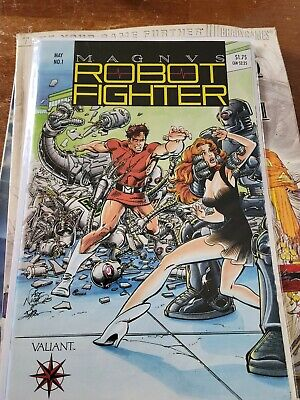 $35 • Buy Magnus Robot Fighter #1 W/ Coupon/Cards VF- Condition