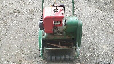 £25 • Buy Qualcast Suffolk Punch 30 Petrol Cylinder Mower, Used But Functions OK