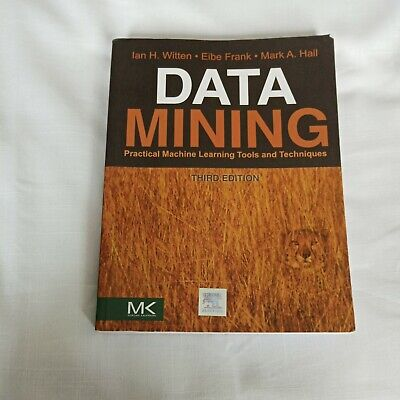 $4.73 • Buy Data Mining: Practical Machine Learning Tools & Techn... By Mark A. Hall,Geoffre