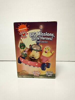 £10.97 • Buy Wonder Pets!: Big Missions, Little Heroes! 3 DVD Collection Kids Toddlers 2009