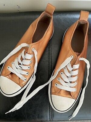 £3 • Buy Ladies Bronze Shoes Size 6 Worn Once
