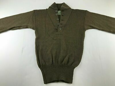 $30 • Buy MINT- NEW Mens Army OD 100% Wool Military Sweater - SMALL