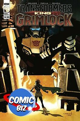 £4.25 • Buy Transformers King Grimlock #1 (2021) 1st Printing Nord Main Cover A Idw Comics