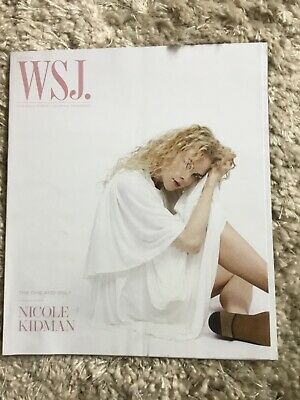 $0.99 • Buy The Wall Street Journal Magazine The One And Only Nicole Kidman May 2020