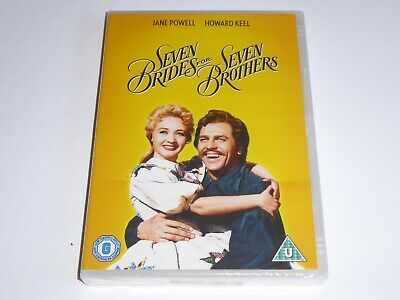 £6.45 • Buy Seven Brides For 7 Brothers (1954) - Howard Keel, Jane Powell - NEW / SEALED DVD