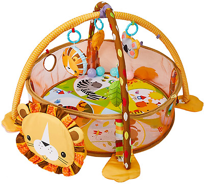 £48.15 • Buy HIUME Baby Play Mat 3 In 1 Baby Gym With 4 Hanging Toys & 30 Balls - Infant For