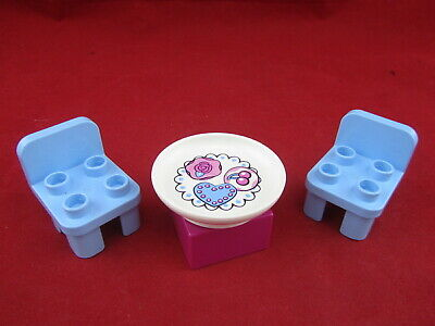 £7.19 • Buy Disney Princess Cinderella's Castle Lego 6154 Duplo Table/Plate & Chairs Replace